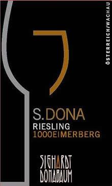 S.DONA Riesling 1000 Eimerberg Smaragd