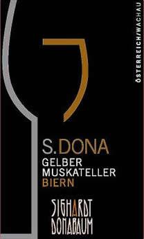 S.DONA Gelber Muskateller Select Biern