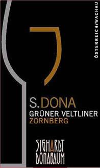 S.DONA Gruener Veltliner Smaragd 'Zornberg' 2008