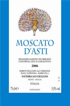 Moscato d'Asti DOCG 2010