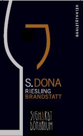 S.DONA Riesling Grand Select Brandstatt 2007