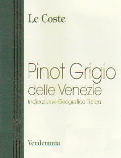 Le Coste Pinot Grigio delle Venezie