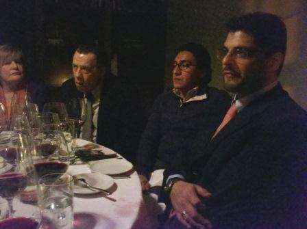 Rocche dei Manzoni dinner at the Leopard at Des Artistes