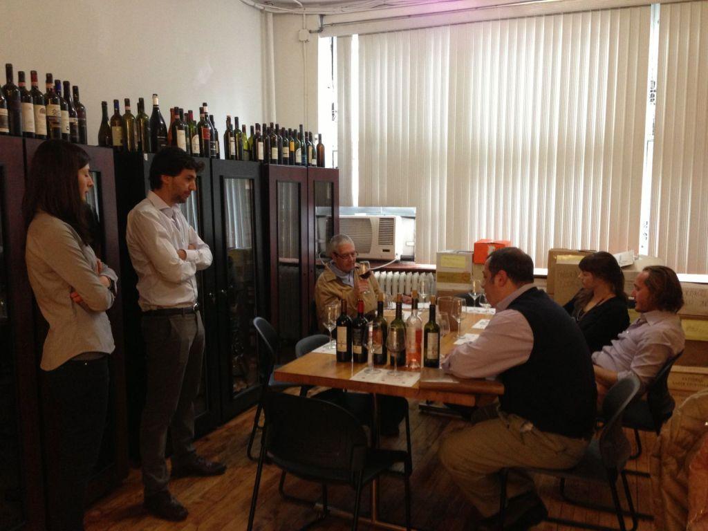 Staff Training at Vignaioli office
