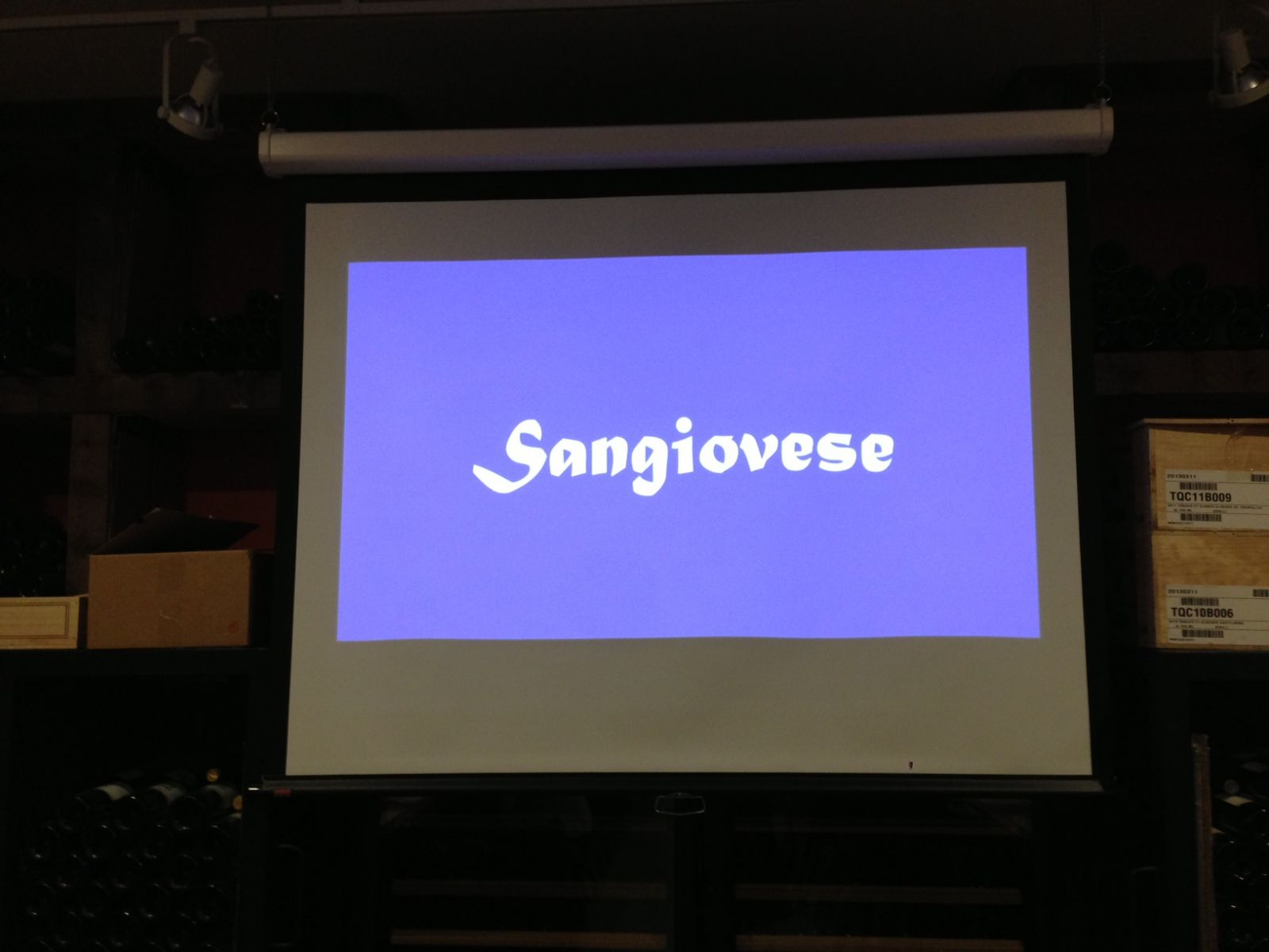 sangiovese class
