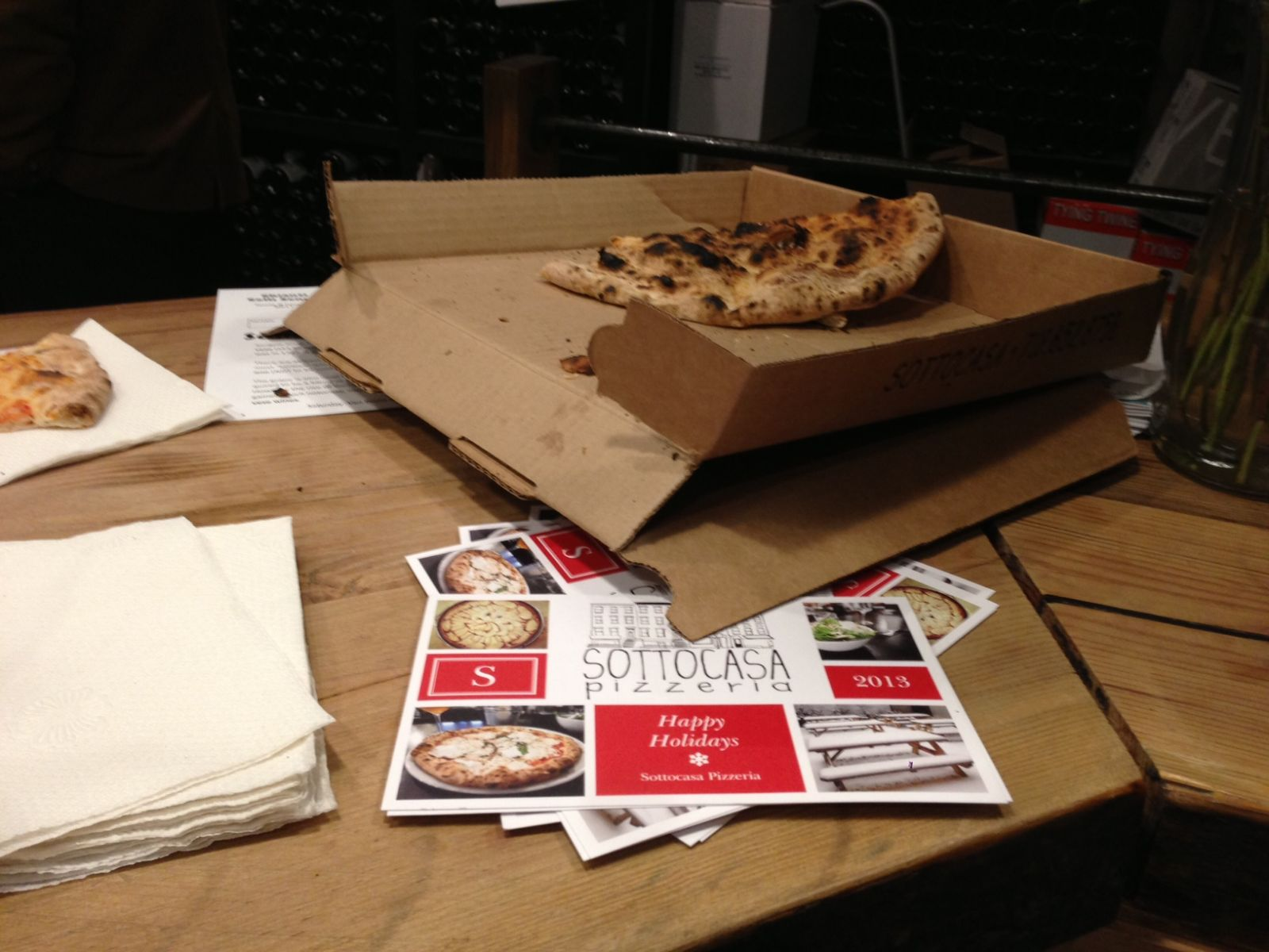 pizza in the box