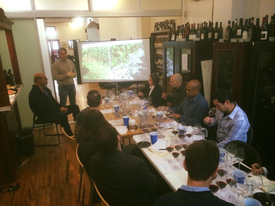 Brunello Seminar with La Fornace and Collemattoni
