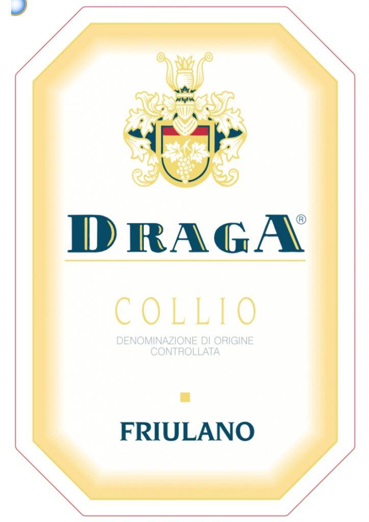 Friulano draga collio BACK