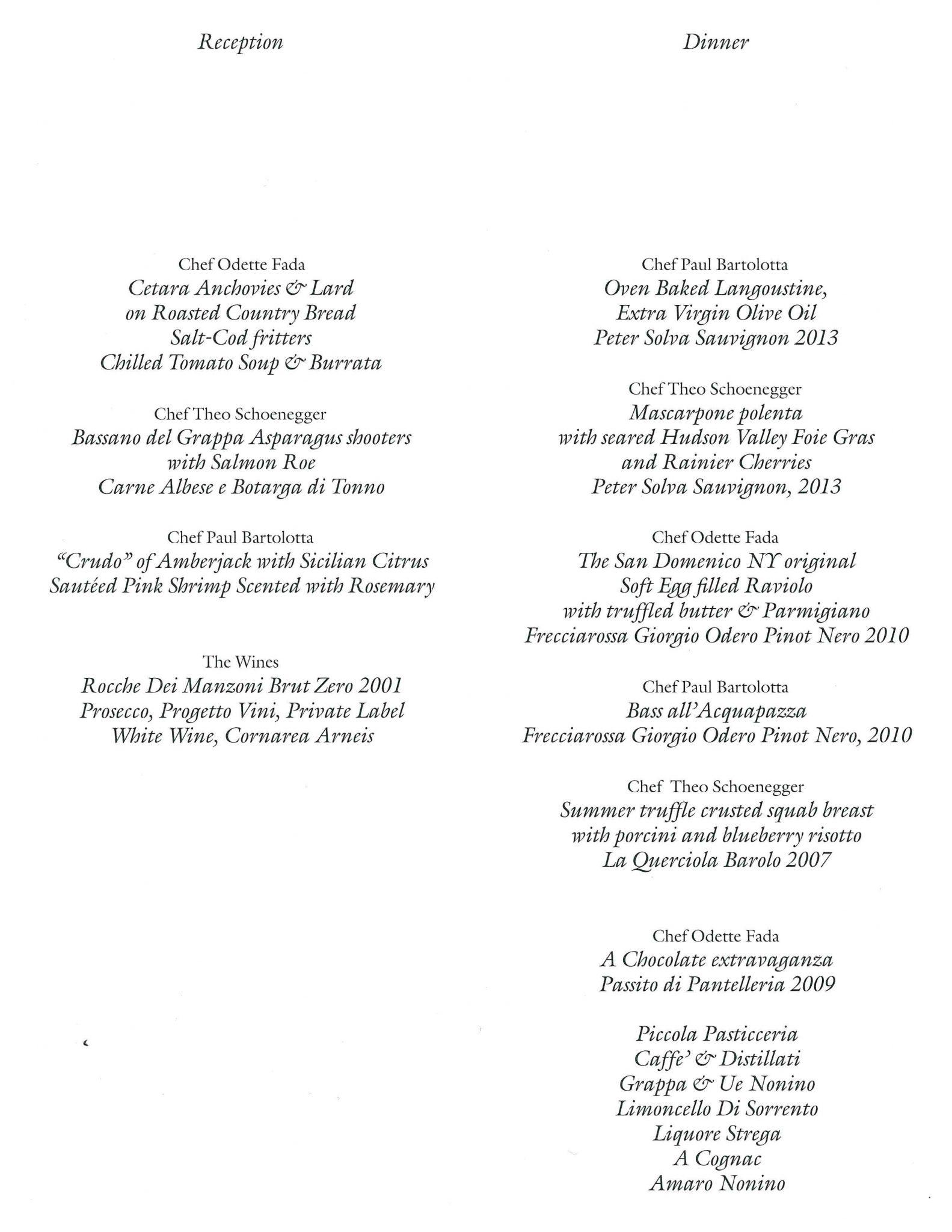 The Italian Culinary Foundation