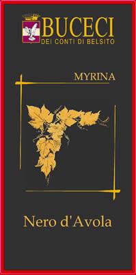 Myrina, Nero d'Avola IGT