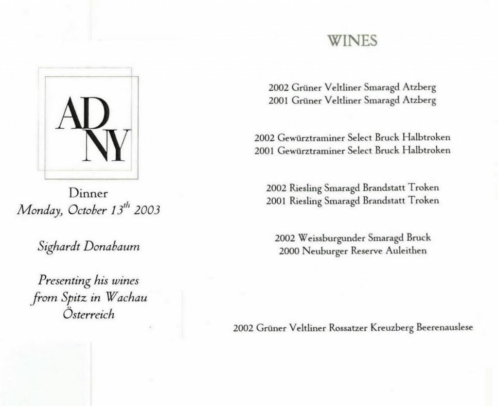 ADNY wines