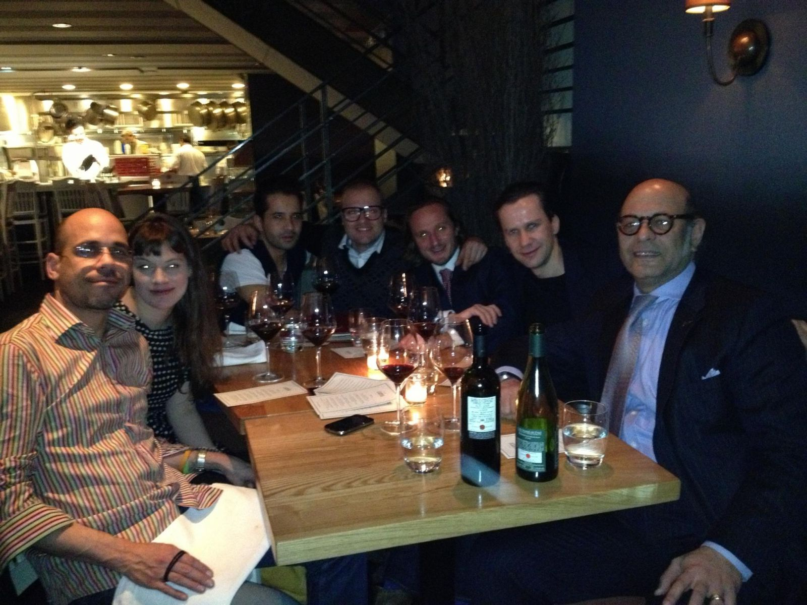 Peter Soelva visit to NYC