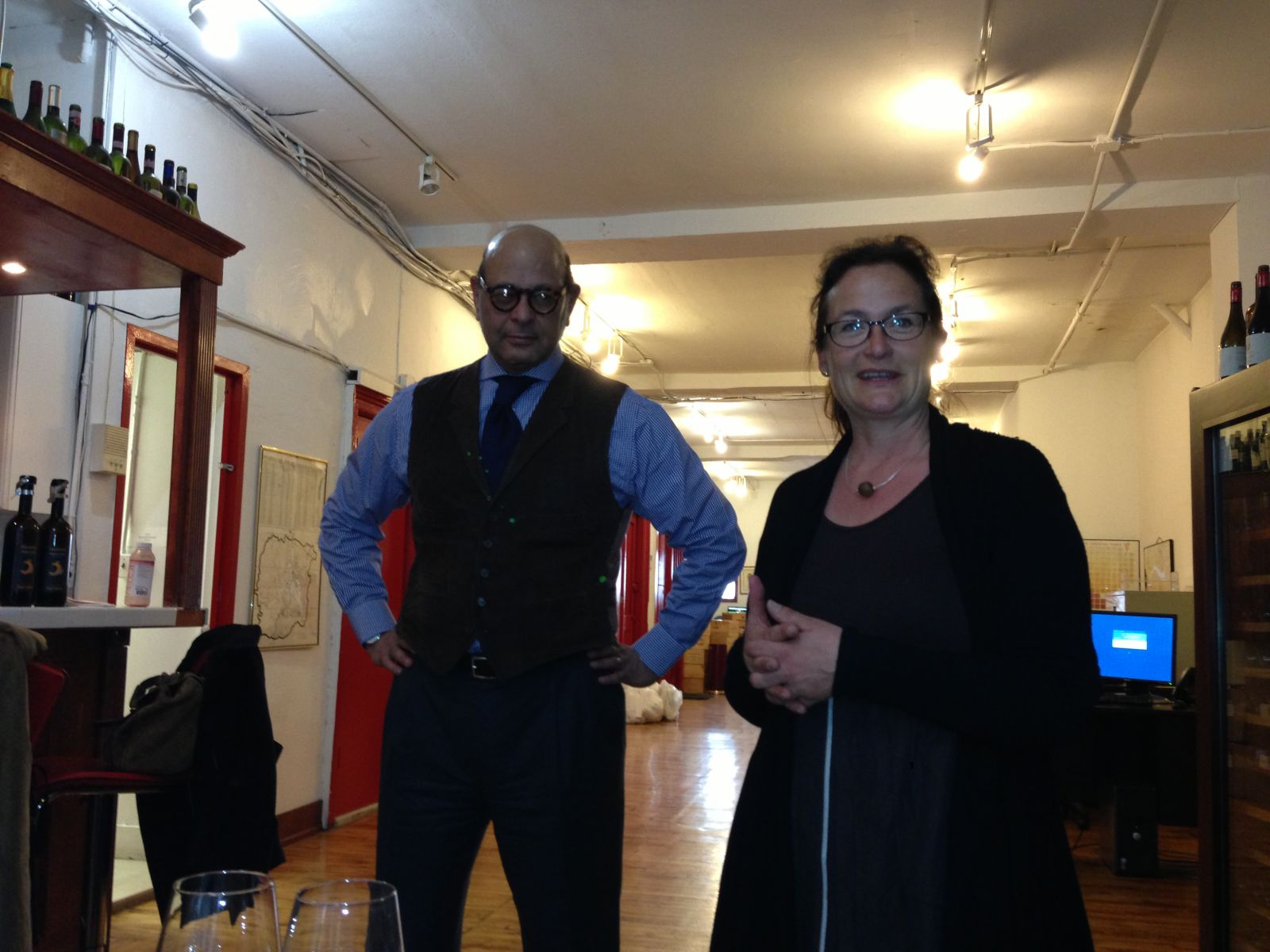 Dino Tantawi and Annette Hilberg