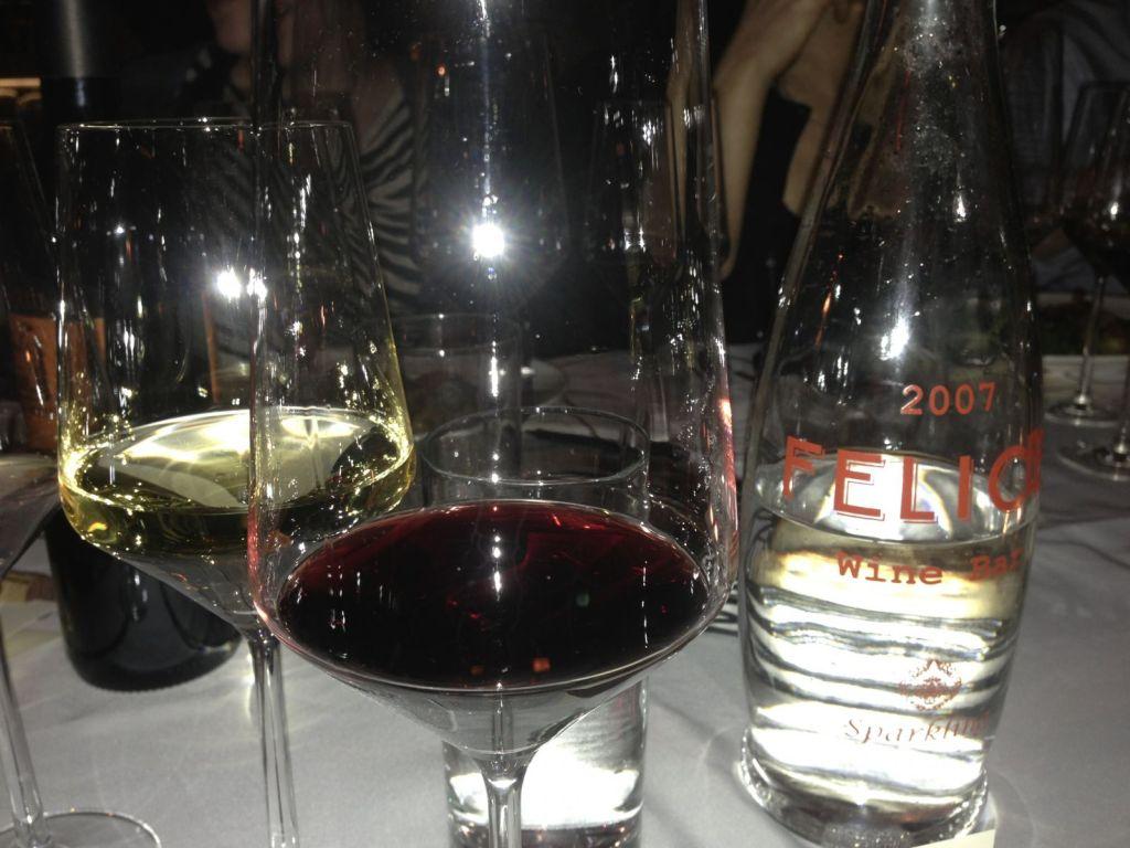 Wine Dinner at Felice Gold restaurant