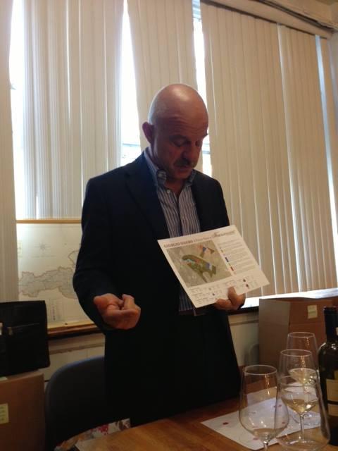 Giuseppecarlo Vercesi of FRECCIAROSSA staff Training