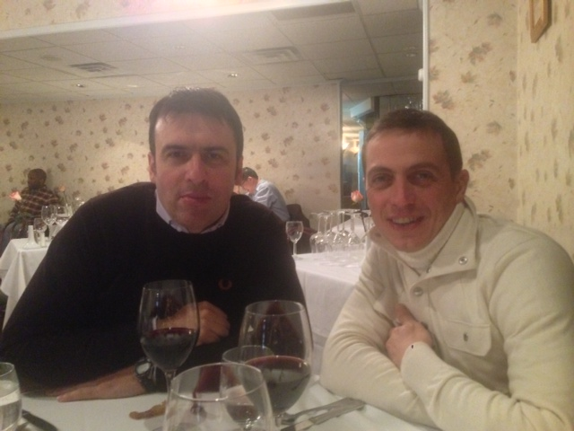 Marcello and Fabio at IL MULINO
