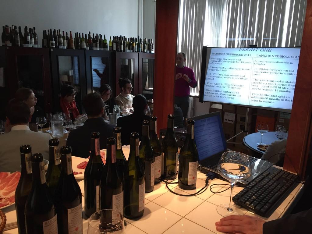 Barolo Seminar with Federico Scarzello