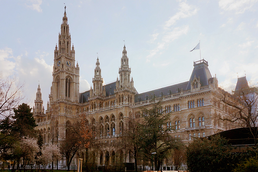 rathaus vienna city hall